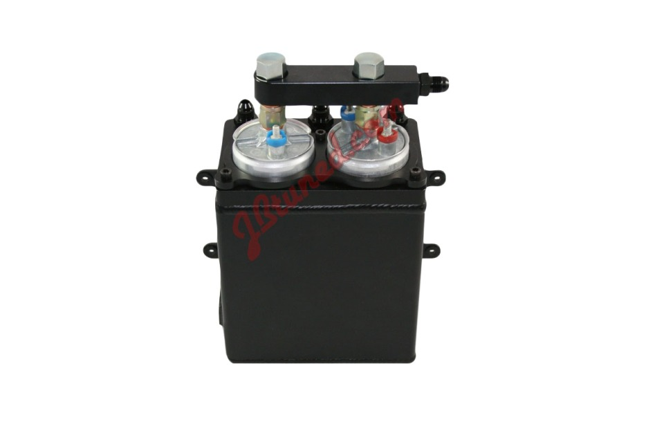JBtuned.com surge tank for Bosch 044 pumps
