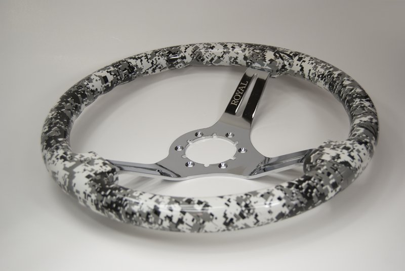 Grip Royal Camo Arctic Steering Wheel